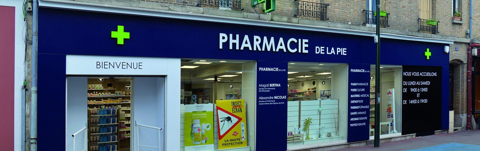Pharmacie DE LA PIE - Image Homepage 1
